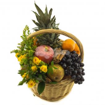 Корзина с фруктами Микс