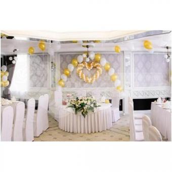 Оформление шарами на свадьбу «Комплект № 8»